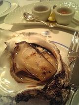 青森産岩牡蠣のグリル