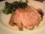 高座豚ロース肉のグリル