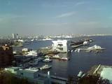 横浜大桟橋風景@東天紅