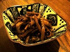 ぜんまいの煮物@神楽坂空