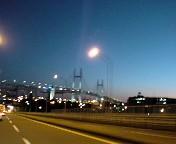 横浜ベイブリッジへ