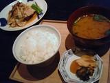 ご飯とお味噌汁のセット@酢重ダイニング