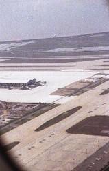 ANA960便は上海浦東国際空港を離陸