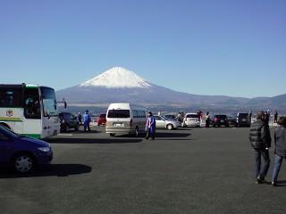 美華ガーデンから眺めた富士山