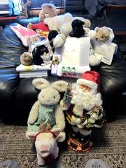 Xmas Family with Santa Claus