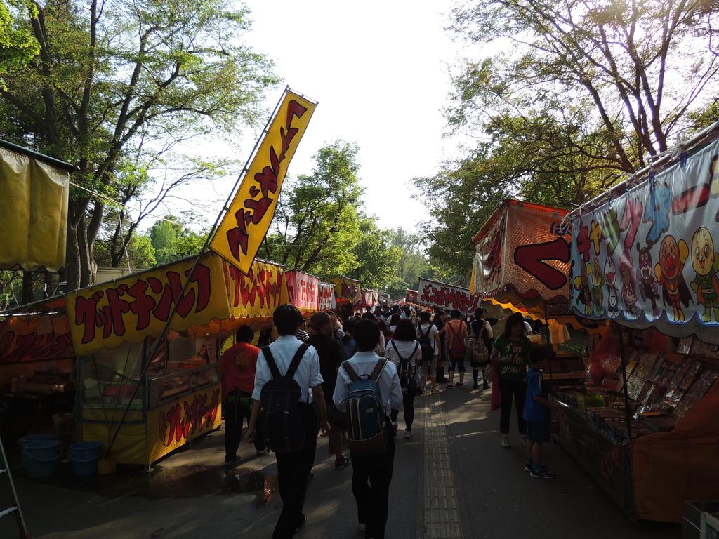 護国神社祭@常磐公園