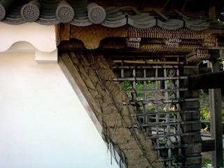 小田原城の土壁構造