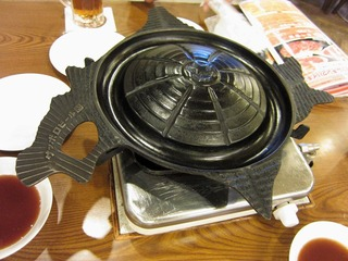 北海道型ジンギスカン鍋