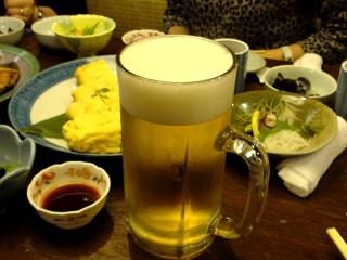 特大ジョッキ生ビール