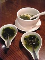ワカメスープ@トラジ横浜店