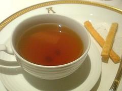 小笠原産海亀のスープ@アピシウス