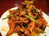 キムチ風野菜の和え物