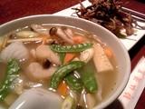 海鮮湯麺@酔仙酒家
