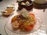 海鮮涼麺と小籠包@王興記