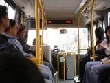 926番バス車内