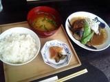 サバ味噌煮ランチセット@酢重ダイニング