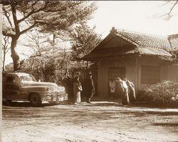 昭和23年(西暦1948年)頃の貴賓館