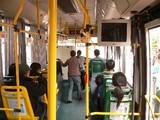 豫園行きバス車内