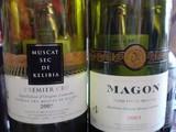 チュニジアの赤白ワイン