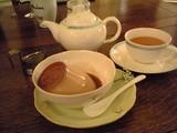 ミルクティープリンと紅茶@マーロウ
