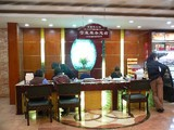 Reservation Desk of Sun Ya Cantonese Restaurant