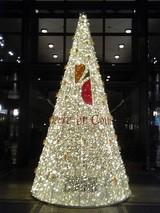 お台場メリディアンホテルのクリスマスツリー