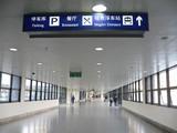 上海浦東国際空港リニアモーターカー駅へ