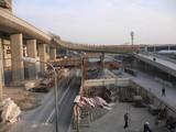 建設中の上海浦東国際空港施設