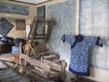 中国藍印花布館資料展示室