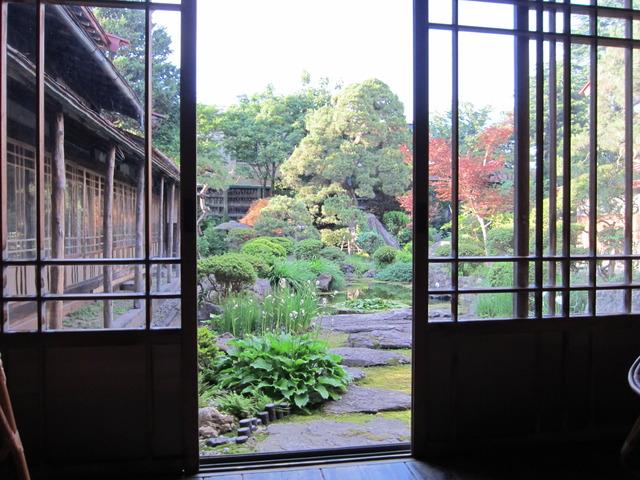 菊乃井の鳴海さん中庭特別公開