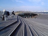 横浜港大桟橋屋上フロア