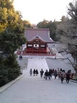 鶴岡八幡宮舞殿