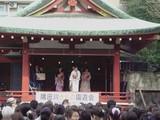 浅草神社で隅田川きもの園遊会