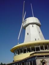 改修されて復活した風車