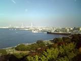 横浜山下公園と氷川丸@東天紅