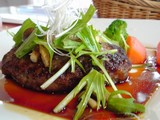 見蘭牛のハンバーグステーキ