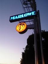 マーロウの新看板