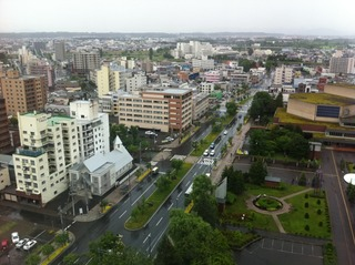 旭川グランドホテル16階からの眺望
