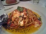 フレッシュバジル&モッツァレラチーズのトマトソース スパゲティ
