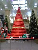 クリスマスツリー@日本橋高島屋