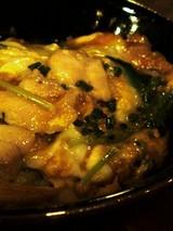 自然卵といわい鶏の親子丼@権八銀座