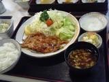 生姜焼き定食@まい泉日比谷店