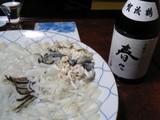 フグ料理に賀茂鶴