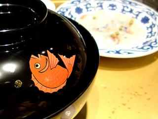 鯛茶漬け@箱根瓔珞