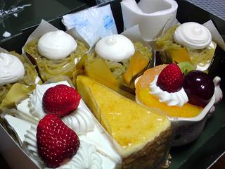 マロンの各種ケーキ