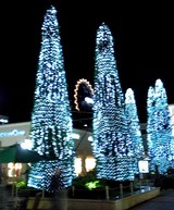 Xmas Decorations at Gotemba Premium Outlet