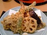 彩定食(天ぷら盛り)@銀座天國横浜店