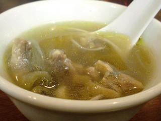 スッポンのスープ@龍口酒家