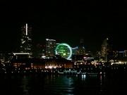 横浜みなとみらい21の夜景