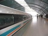 リニアモーターカー@龍陽路(Long Yang Road)駅